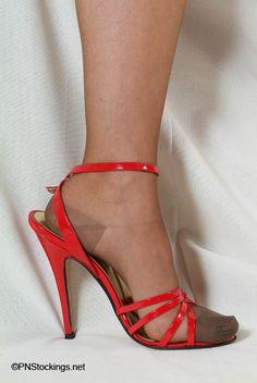 Bildresultat för stilettos with nylons hosiery