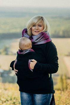 22d67cfcbdf LennyLamb Fleece Babywearing Sweatshirt - LennyLamb Babywearing Sweater  Canada - LennyLamb Canada - Lagoon Baby