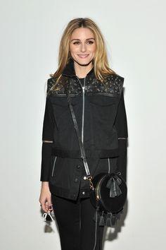 The Olivia Palermo Lookbook : NYFW : Olivia Palermo At Rebecca Minkoff