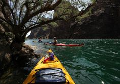 Eldorado Multisport - Kayak, ATV, Horseback.  4 days kayaking the Colorado River.  Everything is taken care of!  You get picked up of the Las Vegas Strip and they take care of the rest!