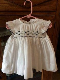 3edb8100d EUC Sarah Louise baby girl hand smocked embroidered dress #fashion #clothing  #shoes #accessories #babytoddlerclothing #girlsclothingnewborn5t (ebay link)