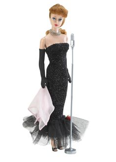 In 1961, Barbie was a singer. Photo credit: Mattel Inc.