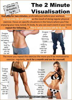 Exercise Motivation | Exercise Motivation Tip 2 - The 2 minute Visualisation.