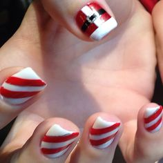 christmas by jeniferdinh #nail #nails #nailart