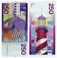 The week-end is coming so we decided to make you a surprise by publishing the World's 25 Most Beautifully Designed Banknotes.  Setting aside national symbols (e.g. important persons), the designs of the banknotes are simply superb.  Today, most people want to have more dollars, euros or yens, but I would give all these currencies for the Dutch Guilder. Well, the former Netherlands currency (mid-17th Century- 2002) is probably the most beautiful designed banknote that was in circulation...