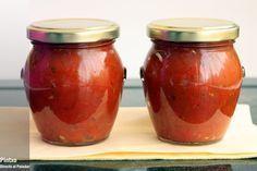 Cómo hacer salsa de tomate y albahaca en conserva. Receta