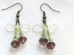 Dark Cherry Earrings from Cloudberry Cat