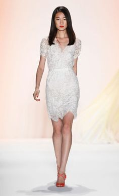 Jenny Packham spring 2012...what a beautiful dress! Perfect for the rehearsal dinner or reception!