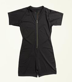 Active Unisuit - Black – TomboyX Active Wear, Travel Clothing, Swimming, Rompers, Summer School, Sleeves, Swimwear, Objects, How To Wear