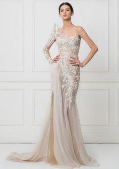 Featured Dress: Yasmine Yeya Couture; Wedding dress idea.