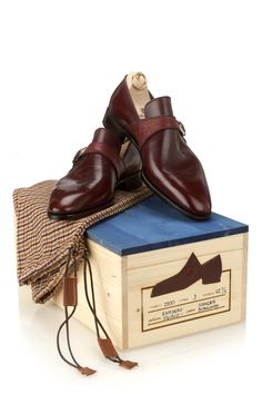 Stefano Bemer Duccio Buckled Monk Shoe Exclusive to New Lingwood.