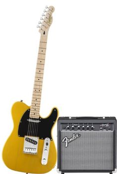Save $ 200 order now Squier by Fender Tele Electric Guitar Pack w/ Frontman 15G,