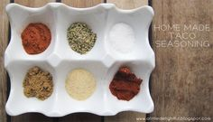 Making your own taco seasoning is easy peasy! You'll wonder why you haven't done it before.And the best part? You can change it up. Like more garlic? Add more.Want it spicy? Add some chilli.You start with 5 spices, a bit of salt and a bit of cornflour.My recipe is as follows – chop and change as you see fit. INGREDIENTS:3 tsp smoked paprika {or chilli powder}6 tsp garlic powder7 tsp ground cumin4 tsp paprika3 tsp mixed herbs3 tsp salt*2 tsp cornflour {optional}Mix all together in a…