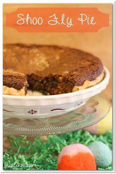 Shoo Fly Pie ~ Grandma's Recipe