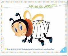 """Proyecto de Educación Infantil de 3 años """"Las abejas"""" (Colección """"¡Me interesa!"""" de Editorial Algaida) Kindergarten, Bee, Editorial, Insects, Science Fair, Teaching Resources, Preschool, Bees, Kindergartens"""