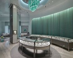 JE82 Jewelry Store Layout Design For Tiffany & Co
