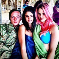 Spring Breakers' stars Selena Gomez & Rachel Korine w/ one ATL Twin Rachel Korine, Harmony Korine, Spring Breakers, Selena Gomez, Stars, Celebrities, Twin, Holidays, Summer