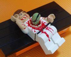 alien chest burster lego