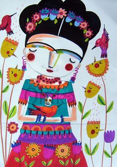 The Itsy Bitsy Spill: Frida inspiration!!!!