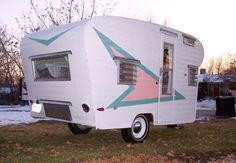 vintage trailer restoration website, great ideas and tips...reminds me of my daughter's camper that they really enjoy and use in many clever ways.