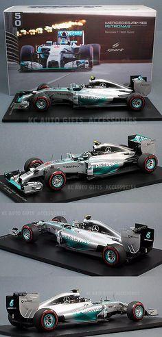 Formula 1 Cars 180270: Spark 18S141 2014 Nico Rosberg #6 Mercedes F1 W05 Monaco Gp Winner 1:18 Scale -> BUY IT NOW ONLY: $188 on eBay!
