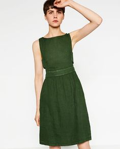 Image 2 of LINEN DRESS from Zara