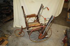 Vintage 1898 Gendron Chain Driven Wheelchair Rare Antique Wheel Chair Must Have #Gendron
