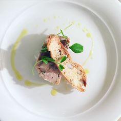Rabbit & chicken terrine #theartofplating #plating #chef #cheflife #chefsroll #chefstalk #chefstable #chefstatus #chefsofinstagram #food #foodie #foodpic #foodgasm #foodporn #foodblogger #foodphotography #foodstagram #foodart #london #essex #instachef #instafood #instagood #picoftheday #photooftheday #gastroart #winter #thestaffcanteen #gastroart by simon_edwards