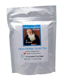 Künzle Swiss Herbal Sleep Tea. Produced in Switzerland from the original all natural sleep supplement recipe of Father Herbalist Künzle. ^^ Special product just for you. : Fresh Groceries