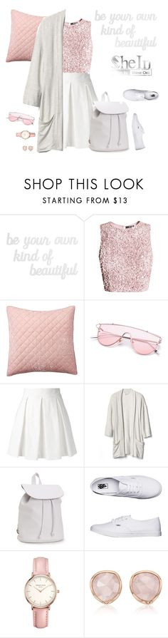 """Be your own kind of beautiful"" by dory-speaks-whale ❤ liked on Polyvore featuring PBteen, Pottery Barn, Boutique Moschino, Gap, Aéropostale, Vans, Topshop and Monica Vinader"