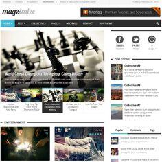 Magzimize WordPress Theme for Online Magazine and Blog