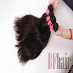 BF Hair Cheap Virgin Brazilian Hair Weave 4 Bundles Brazilian Straight Hair Human Hair Bundles 6A Grade - BF Hair