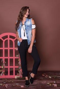 #debrummodas #coleção #calça #pijama #blusa #openshoulder #colete #jeans #modafeminina #moda #fashion #style #estilo