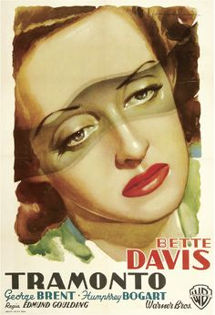 Dark Victory | Italian Movie Poster,  1939