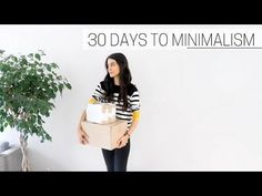 30 DAYS TO MINIMALISM » + printable guide - YouTube