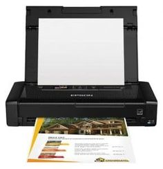 Epson WorkForce Wireless Mobile Printer The world's lightest and smallest mobile printer. This wireless printer easily prints from tablets, smartphones Wireless Printer, Wireless Lan, Bluetooth, Best Portable Printer, Mobile Printer, Printer Driver, 6 Photos, Inkjet Printer, Mac Os