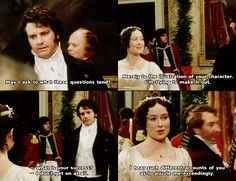 Feisty Elizabeth :) <3 #18thCenturySass #Pride&Prejudice