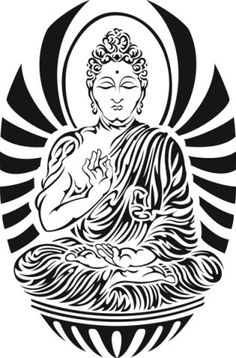 Tribal Buddha Temporary Tattoos #tattooforaweek #temporarytattoo #t4aw
