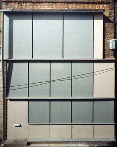 Caruso St John Architects_ Small studio and house in a North Caruso St John, Small Buildings, Roof Light, Small Studio, Architect House, North London, Facade Design, Facade Architecture, New Construction