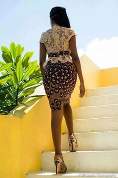~African Prints, African women dresses, African fashion styles, african clothing by angelique African Dresses For Women, African Print Dresses, African Attire, African Wear, African Fashion Dresses, African Women, African Prints, Nigerian Fashion, African Style