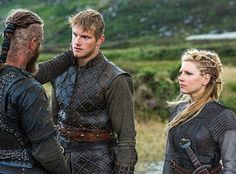They are such a good family even is Lagertha and Ragnar aren't together anymore. They keep each other strong.