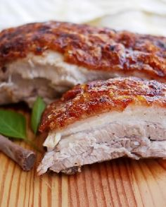 Low FODMAP Recipe and Gluten Free Recipe -  Crisp pork belly with Chinese greens   http://www.ibssano.com/low_fodmap_recipe_crisp_pork_belly.html