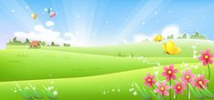 romantic spring meadow flowers cartoon butterfly vector background material, Spring, Romantic, Meadow, Background image Free Background Photos, Banner Background Images, Scenery Background, Blue Sky Background, Cartoon Background, Vector Background, Flower Backgrounds, Colorful Backgrounds, Banner Design