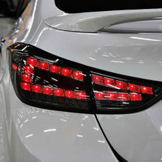 New Tuning LED Rear Tail Light Lamp Assembly For Hyundai Elantra MD 2011+