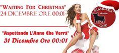 """Ladies And Gentleman,Madame et Monsieur Il Guaranà Fashion Cafè è Lieto di Presentarvi un Doppio Appuntamento: """"WAITING FOR CHRISTMAS"""" & """"ASPETTANDO L'ANNO CHE VERRA'"""" Vi Aspetta Giorno 24 per Festeggiare il Natale e il 31 Dicembre alle ore 00:01  L'Arrivo Del Nuovo Anno, Insieme a Voi,Con Musica a 360° e Cocktail a Gogò!! ...  IN CONSOLLE: - - PINO MIX - -"""