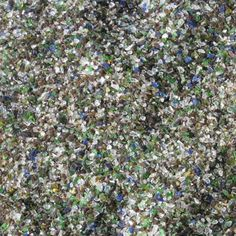 this is also known as glass mulch.  you can get this at Gardenville for $3.95 for 40 lbs. Landscape Glass, Landscape Materials, Garden Gates, Recycled Glass, How To Dry Basil, Landscaping, Recycling, Herbs, Yard