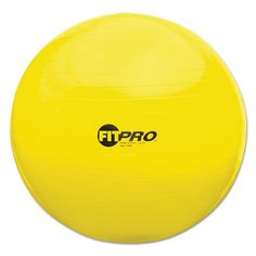 Champion Sport FitPro Ball Chair, 75cm, Yellow - BMC-CSI FP75 >>> Wow! I love this. Check it out now! : Pilates