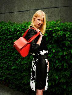 Yulia Terentieva By Jeroen W. Mantel For ELLE Netherlands .