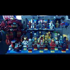 Marvel And Dc Superheroes, Lego Marvel, Man Stuff, Geek Stuff, Lego Iron Man, Lego House, Lego Building, Lego Creations, Tony Stark