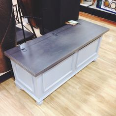 Lovely Wood Storage Bench · Wood Storage BenchHOME GOODS ...